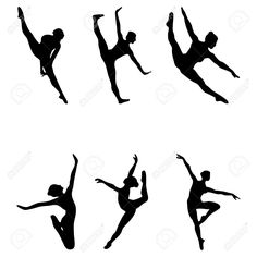 26 Awesome dancer silhouette jump images