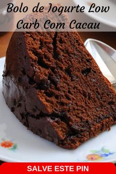 Low Carb Bread, Low Carb Diet, Bolo Chocolate Low Carb, Bolos Low Carb, Diabetic Menu, Chocolates, Food Network Recipes, Cupcake Cakes, Food To Make