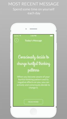 Respect Yourself < free app to help change thinking patterns and improve self esteem