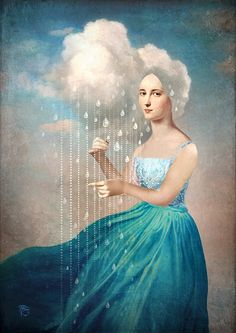 Melody of Rain ~ Christian Schloe Digital Artwork