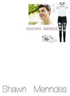 """""""★with  Shawn  Mendes★"""" by jorikadamian ❤ liked on Polyvore featuring Zara, Glamorous, adidas and Episode"""