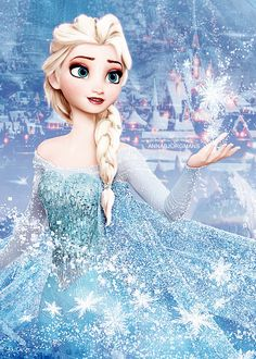 I just realized that I am Elsa. Many girls grew up as princesses, but I grew up knowing that someday I would be a queen.