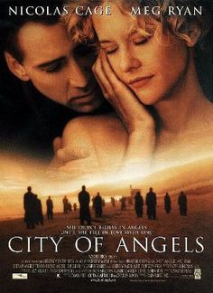City of Angels is a 1998 American romantic fantasy drama film directed by Brad Silberling. The film stars Nicolas Cage and Meg Ryan. Set in Los Angeles, California, the film is a very loose remake of Wim Wenders' 1987 German film Wings of Desire (Der Himmel über Berlin), which was set in Berlin, West Germany.
