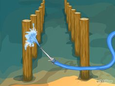 How to Install Posts in the Water for a Dock or Pier -- via wikiHow.com
