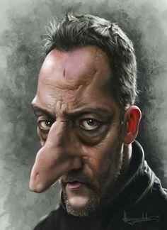 Jean Reno by Patrick Strogulski