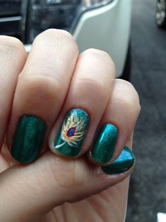 90 Best Fantastic Feather Nail Art Images On Pinterest In 2018