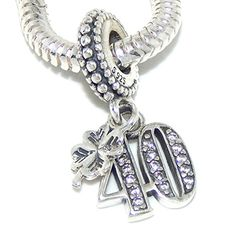 """925 Sterling Silver Dangling """"Crystal Number 40 and Four ... http://www.amazon.com/dp/B014JF0RYU/ref=cm_sw_r_pi_dp_9qLgxb122EMFN"""