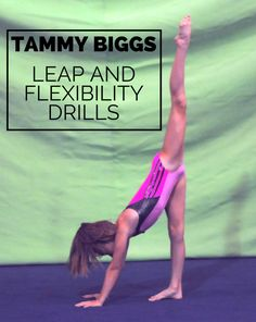 Tammy Biggs – Leap and Flexibility Drills | Swing Big!