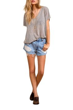 Women's Vintage Levi Distressed High Waisted Ripped Destroyer Stone Denim