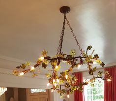 See if you can find this unique chandelier when you tour Designer House...hint: it's in the room designed by Williams & Sherrill Interiors. House open through 10/10/16, M-F 10-3, Sat 10-5, Sun 1-5. Proceeds benefit the Richmond Symphony. Visit www.rsol.org for info. #RSOL2016DH