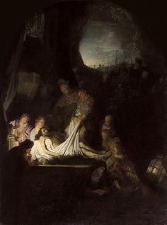 Погребение Христа. Харменс ван Рейн Рембрандт