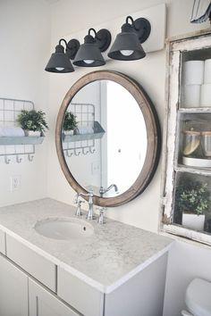 60 Rustic Farmhouse Style Bathroom Design Ideas https://amzhouse.com/60-rustic-farmhouse-style-bathroom-design-ideas/