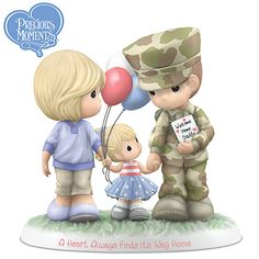 Precious Moments A Heart Always Finds Its Way Home Figurine