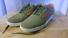 VANS LXVI Mens Sneakers 8.5 Gray/Orange  #VANS #AthleticSneakers