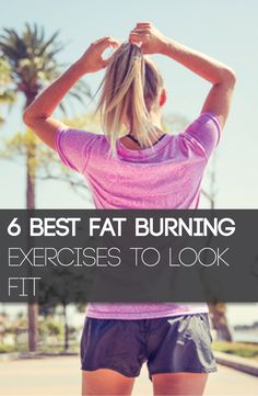 Here are 6 of the best and easy fat burning exercises you can do!