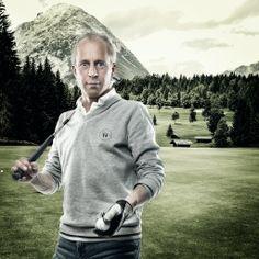 Golf in Wildmoos, Seefeld, Tirol Chef Jackets, Golfers, Portrait, Studio, Photos, Fashion, Moda, Pictures, Headshot Photography