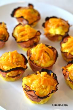 Ham and Cheese Breakfast Cups | eMeals