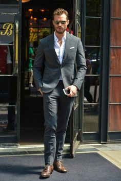 Jamie Dornan is elegancy