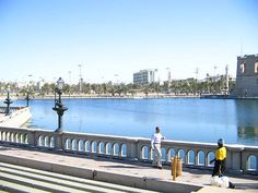 Tripoli City Lake    A beautiful lake veiw in the tripoli city just beside the museum.