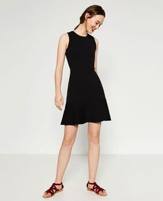 DRESS WITH FRILL-View All-DRESSES-WOMAN-SALE   ZARA United States