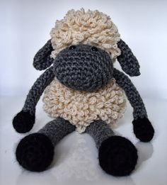 Curly Girl Coop: Sheldon the Sheep This is written in UK terms. Would love to make it. C