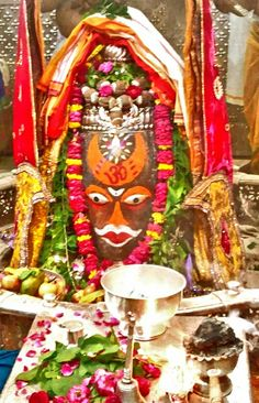 #Bhasma #Aarti pic of Shree #Mahakal #Ujjain - Aug. 05  Visit the #holy city of Ujjain - famous for its #Temples.