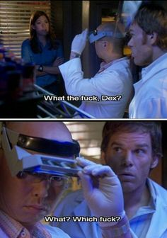 Dexter, Deb, And Masuka