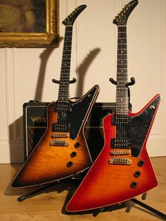 A couple Gibson Explorer II's were made from 1979 to 1983. Me likey.