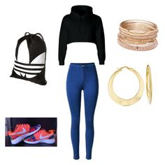 """""""Untitled #38"""" by niajones06 on Polyvore featuring adidas, Red Camel and Ross-Simons"""