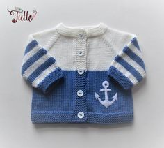 Anchor sweater sailor sweater wool cardigan baby boy sweater blue and white jacket newborn sw. Anchor sweater sailor sweater wool cardigan baby boy sweater blue and white jacket newborn sweater M - - Baby Boy Cardigan, Cardigan Bebe, Baby Girl Sweaters, Boys Sweaters, Wool Cardigan, Sweater Jacket, Sweater Sale, Striped Sweaters, Oversized Sweaters