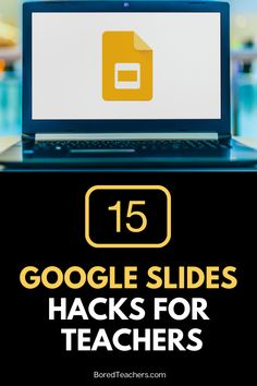 15 Google Slides Hacks For Teachers Teaching Technology, Teaching Science, Teaching Tools, Best Apps For Teachers, Bored Teachers, Teacher Interviews, Google Tricks, Too Cool For School, School Stuff