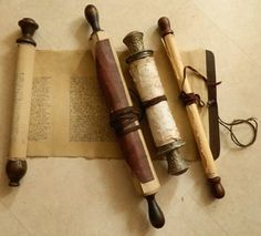 HISTORY of WRITING, The Scroll
