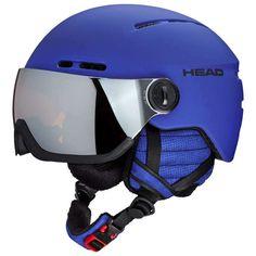 HEAD Skihelm VISIER Knight Herren Blau Helm Ski Schi NEU OVP ! Snowboarding, Skiing, Aerobics, Bicycle Helmet, Sports, Google, Blue, Snow Board, Ski