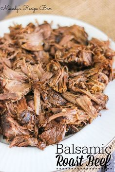 This Balsamic Roast Beef will be a family favorite. Find out the trick to the perfect roast!