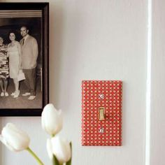 Decoupage Details Decoupage is an easy way to add any paper design to your switch plate,