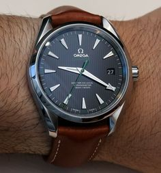 #Omega Seamaster #Aqua Terra Master Co-Axial #Watches Hands-On - men sport watches, buy online watches for mens, mens branded watches sale *sponsored https://www.pinterest.com/watches_watch/ https://www.pinterest.com/explore/watches/ https://www.pinterest.com/watches_watch/pocket-watch/ https://www.tagheuer.com/