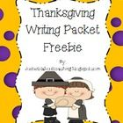 This freebie is just what you need to get your kids to work on their writing.  It's 4 writing prompts that involve writing about Thanksgiving. Grab one....It's a fun freebie!  justwildaboutteaching.blogspot.com