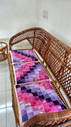 Bargello Quilted Cushion covers, @ TSI, Chennai