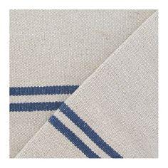 Tissu coton tissé Joséphine bleu x 10cm - Ma Petite Mercerie