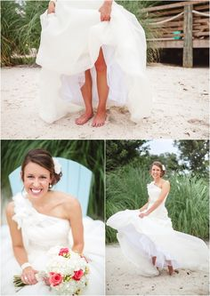 Beach bridal portraits. Click to view more pictures from this wedding! wedding photographer, beach wedding, tennessee wedding, destination wedding photographer