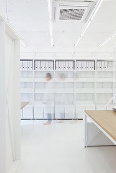 3 | An All-White Office That Makes Work Feel Like High-Stakes Surgery | Co.Design: business + innovation + design