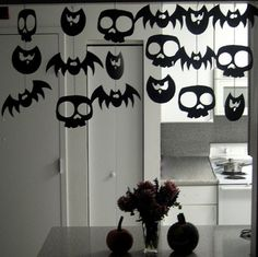 Guirlandes DIY pour Halloween