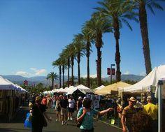 College of the Desert open air shopping Sat. and Sun., Palm Desert, CA