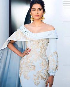 For amfar in the incredible @ralphandrusso and #kalyanjewellers jewels! MUA @namratasoni !! Styled by @rheakapoor !