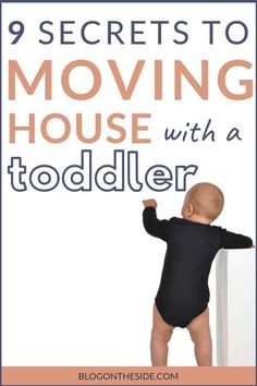9 Tips for moving house with a toddler (to limit stress and tears) : Moving house with a toddler can be stressful – you worry about the effects of moving on toddlers. But with these 9 tips you can make your moving day stress free. Moving House Checklist, Moving House Tips, Moving Home, Moving Day, Moving Tips, Moving Stress, Moving Hacks, Packing To Move, Packing Tips