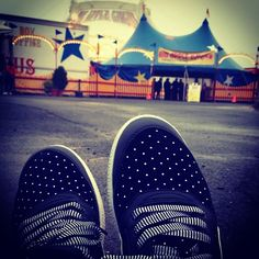 Last week's #travelingpumas winner! This shot was taken wearing Skylaa Hi Polka Dots at a Big Apple Circus stop in Virginia, USA. Enter this week's contest by following @PUMA and tagging pics of your PUMA gear with #travelingpumas on #Instagram. Don't forget to turn on your geo-tagging so we can see where your travels take you. Good luck! http://go.puma.com/176 #contest #winner #circus
