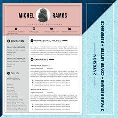 21 Resume bundle Best seller resume template resume image 4 Modern Resume Template, Cv Template, Resume Templates, Ttf Fonts, One Page Resume, Cv Design, Change Image, Group Boards, Craft Tutorials