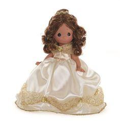 Disney D23 2015 Precious Moments Doll Belle Beauty Beast Signed Linda Rick 5890 #PreciousMoments #VinylDolls