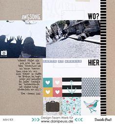Ponte St. Angelo | DT Werk für www.danipeuss.de #scrapbooking #layout