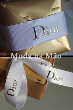 Embalagem de presente, Dior...